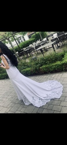 Unbekannte Marke Wedding Dress white