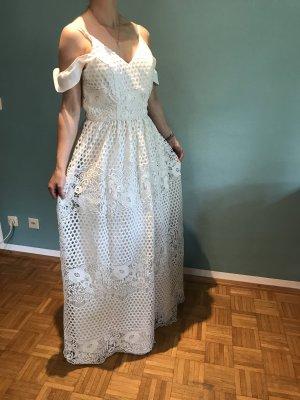 Hochzeitskleid in Gr.36/S von Chi Chi London in weiß / spitze .
