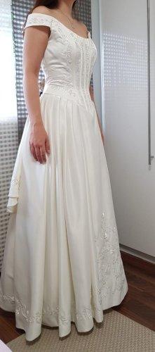 Hochzeitskleid in off-white (Preis VB)