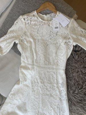Ivy & Oak Suknia ślubna biały Bawełna