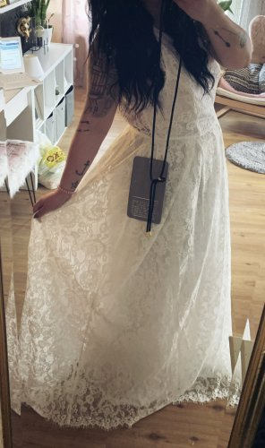 Asos Vestido de novia blanco-blanco puro