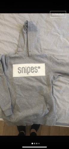 Snipes Hooded Sweater white-grey
