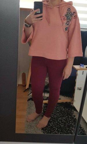 Hoddies Kapuzensweatshirt Sweatshirt Only Gr. L rosa Sweater