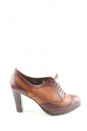 Högl Wingtip Shoes brown-light orange business style