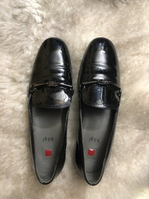 Högl Slippers black leather
