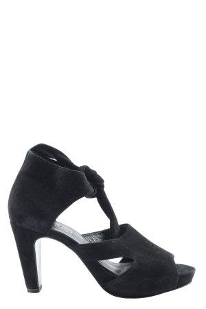 Högl High Heel Sandaletten schwarz Casual-Look