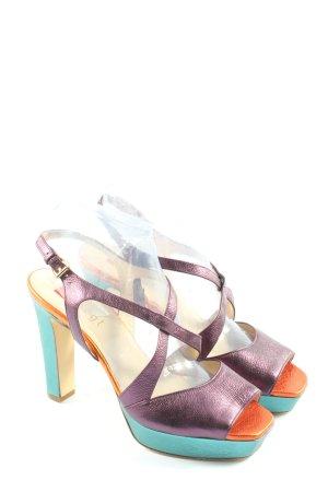 Högl High Heel Sandaletten mehrfarbig Elegant