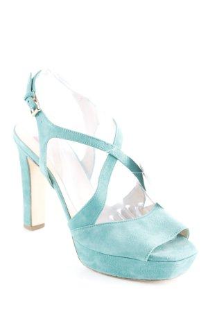 Högl High Heel Sandaletten kadettblau Casual-Look