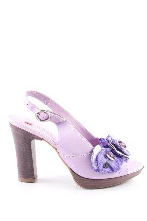 Högl High Heel Sandaletten lila-braun Elegant