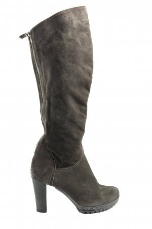 Högl High Heel Stiefel hellgrau Casual-Look