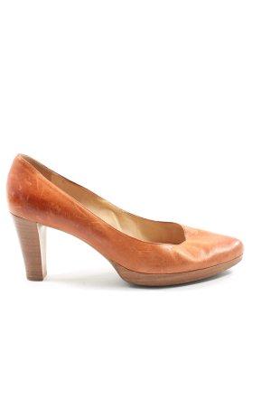 Högl High Heels light orange casual look