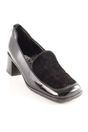 Högl High Heels schwarz extravaganter Stil