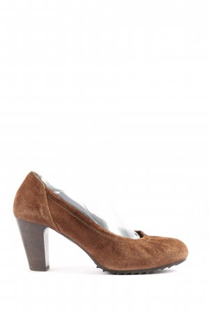 Högl High-Front Pumps brown casual look