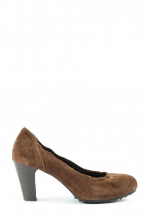 Högl High-Front Pumps brown business style