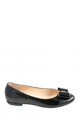 Högl Patent Leather Ballerinas black casual look
