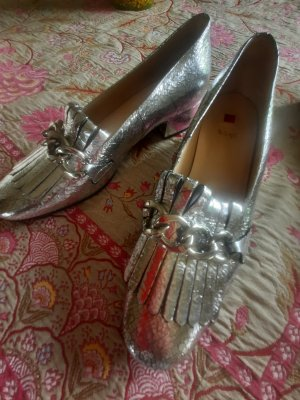 Högl Loafers silver-colored-light grey