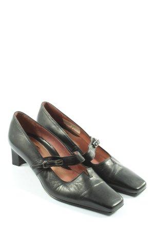 Högl Chaussures Mary Jane noir style décontracté