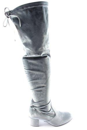Högl Overknees black-light grey color gradient elegant