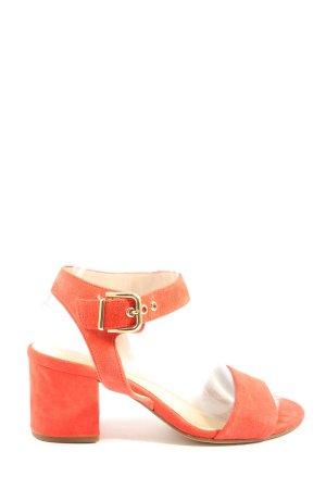 Högl Platform High-Heeled Sandal light orange casual look