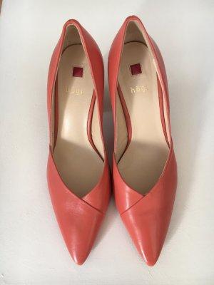 Högl Chaussure décontractée abricot cuir