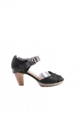 Högl Riemchen-Sandaletten schwarz Casual-Look
