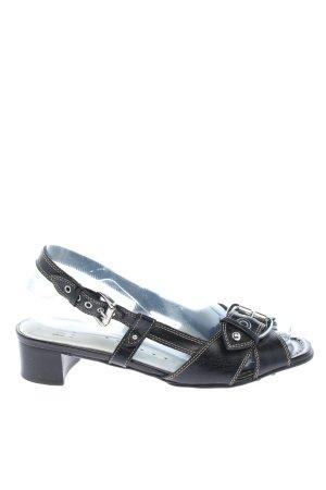 Högl Riemchen-Sandaletten schwarz Business-Look