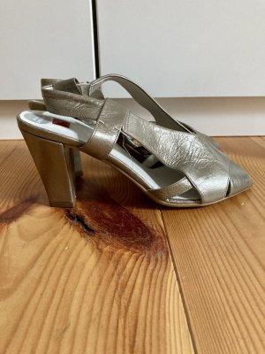 HÖGL Sandalette Schuhe goldene Sommerschuhe neu!