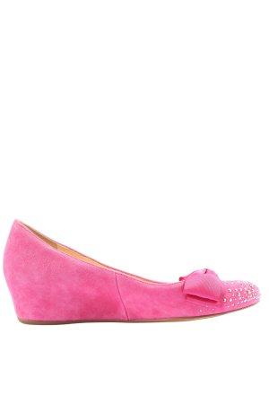 Högl Schlüpfschuhe pink Casual-Look