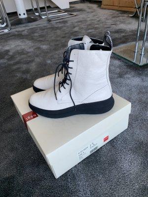 Högl Chukka boot blanc cuir