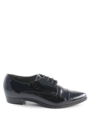 Högl Schnürschuhe schwarz Elegant