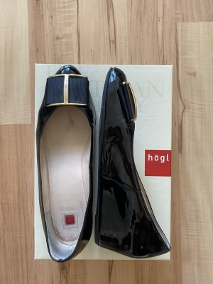 Högl Patent Leather Ballerinas black