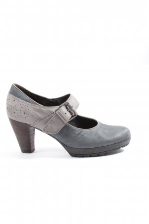 Högl Backless Pumps light grey-natural white casual look
