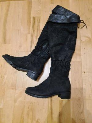 Högl Bottes d'hiver noir cuir