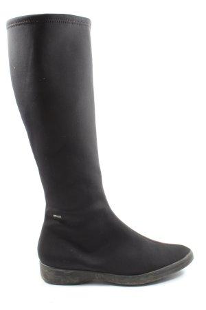 Högl Wide Calf Boots black casual look