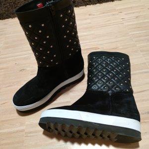 Högl Botas de invierno negro Cuero
