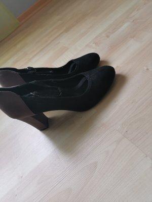 Graceland Stivale con tacco nero-marrone-grigio