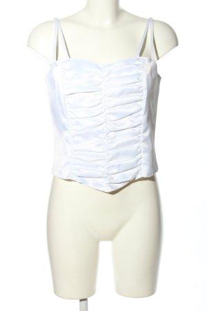 Höpfner Corpiño blanco estilo extravagante