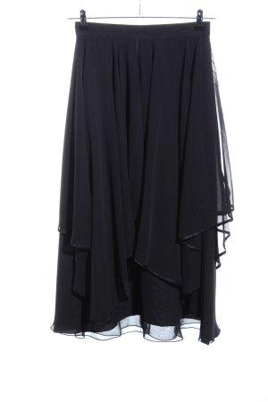 Höpfner Broomstick Skirt black elegant