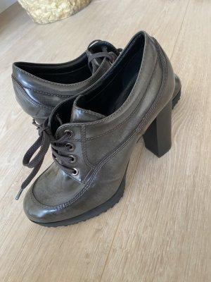 Hogan Lace-up Pumps grey-black