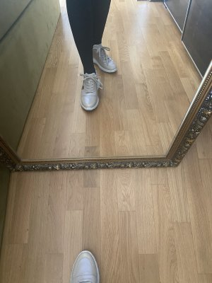 Hogan 40 Sneaker Sportschuhe grau Silber