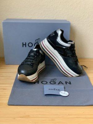Hogan H222 Maxi Sneakers (Schwarz Größe 36)