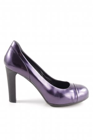 Hogan High Heels lila-schwarz Casual-Look