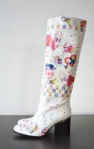 HOGAN Lederstiefel Simon Holloway Stiefel für die Mailänder Modewoche entworfen limitiert 40