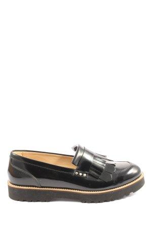 Hogan Oxfords zwart zakelijke stijl