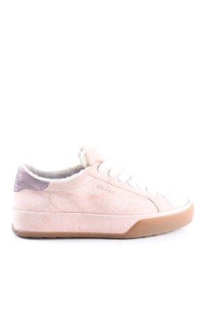 Hogan Zapatos de patinador rosa look casual