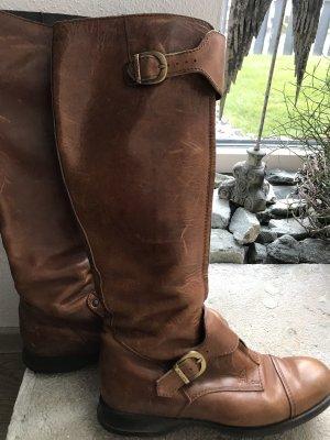 Hogan Riding Boots cognac-coloured