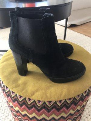Hogan Platform Booties black