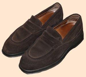 Hogan Zapatos Mary Jane marrón oscuro Gamuza