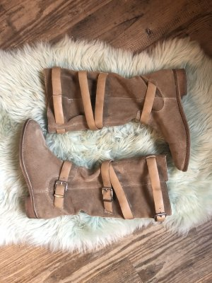 Asos Slouch Boots light brown