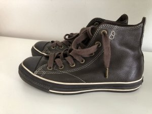 Converse High Top Sneaker dark brown leather